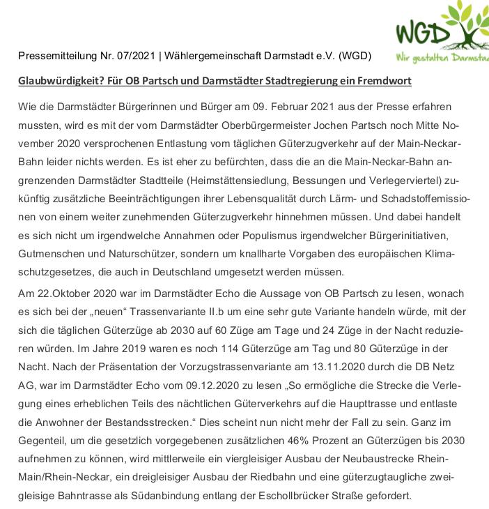 Pressemitteilung 10.2.2021